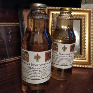 Nealkoholické výrobky z hrozna